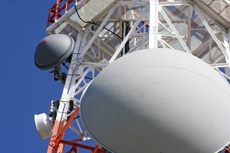 Torre de comunicación foto de archivo
