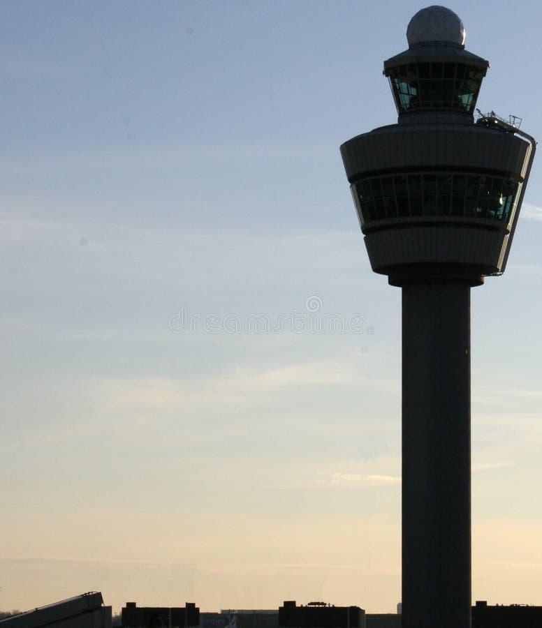 Torre de control del aeropuerto imagen de archivo