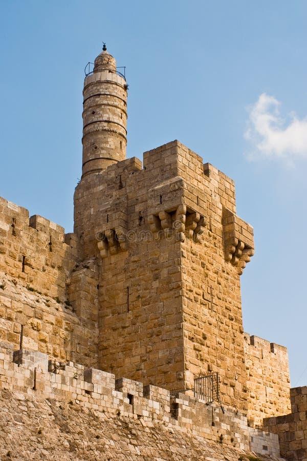 Torre de David imagen de archivo