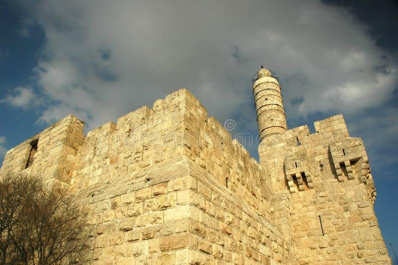 Torre de David fotos de archivo libres de regalías