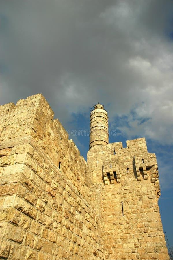 Torre de David imágenes de archivo libres de regalías
