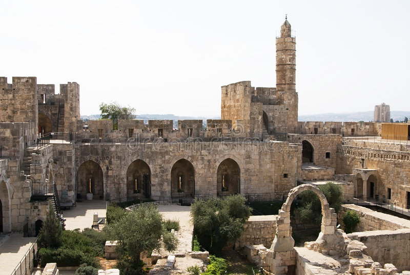 A torre de David foto de stock royalty free