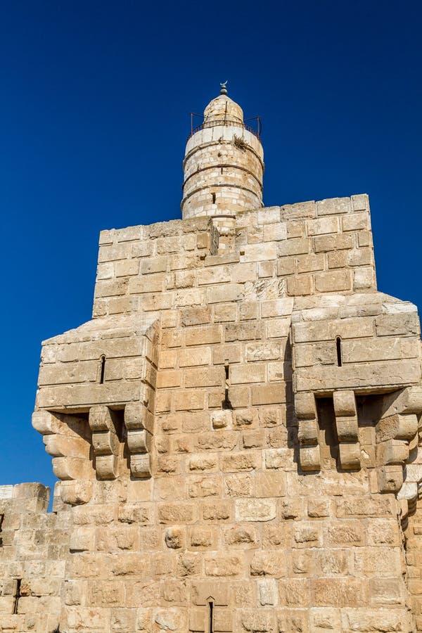 A torre de David, Jerusalém imagem de stock royalty free