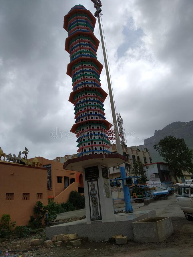 Torre de Deepsthambh imagem de stock royalty free