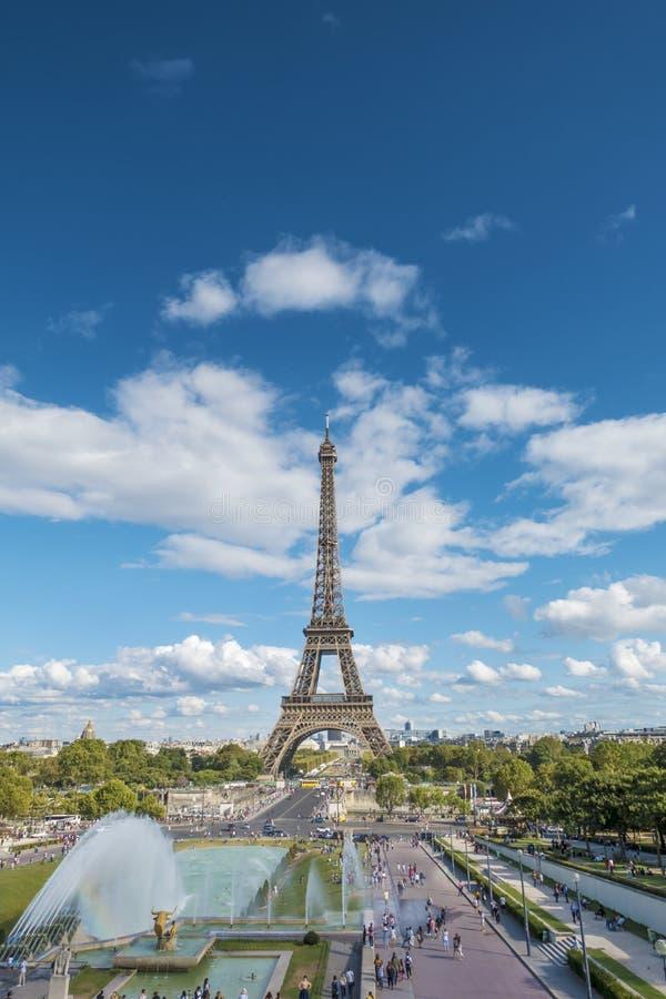 Torre de Effel en París foto de archivo libre de regalías