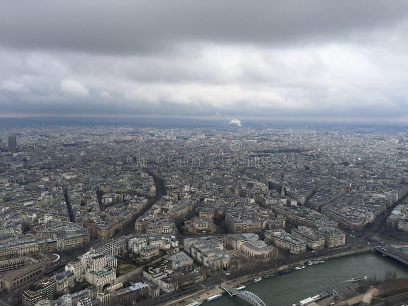 Torre de Eifel do uso foto de stock royalty free