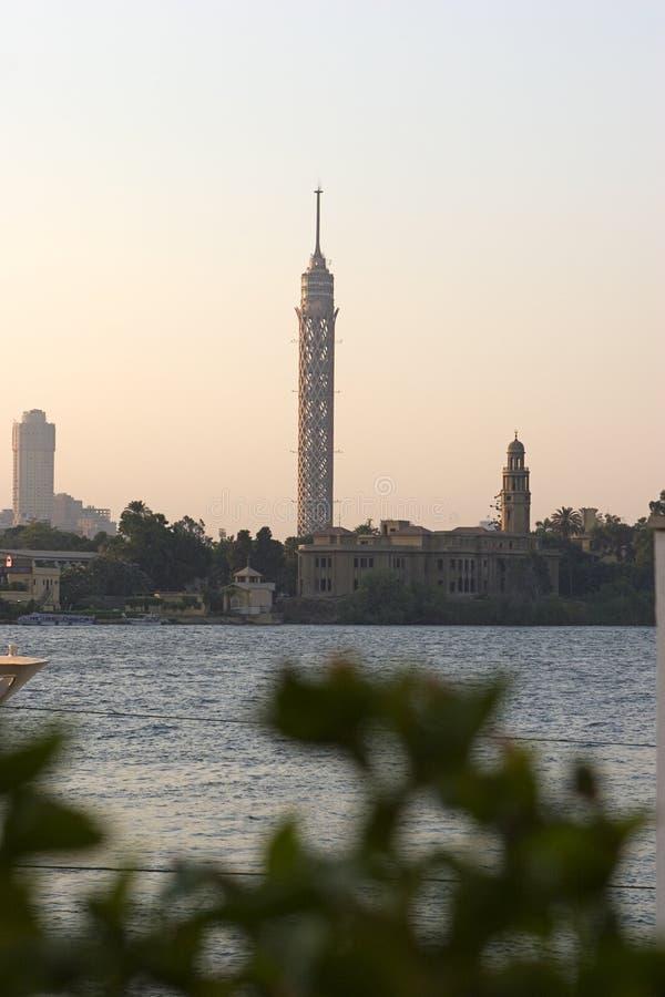 Download Torre de El Cairo foto de archivo. Imagen de egipto, paisaje - 188980