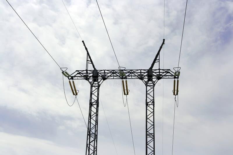 Torre de Eletricity imagens de stock