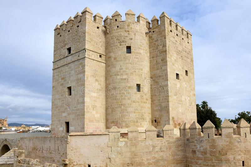 Torre de España, Andalucía, Córdoba, Calahorra foto de archivo libre de regalías