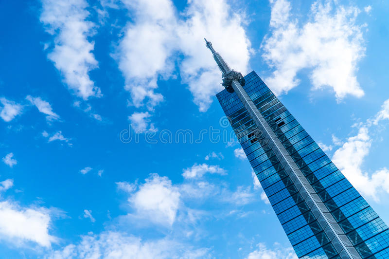 Torre de Fukuoka foto de stock