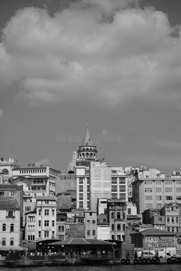 Torre de Galata imagenes de archivo