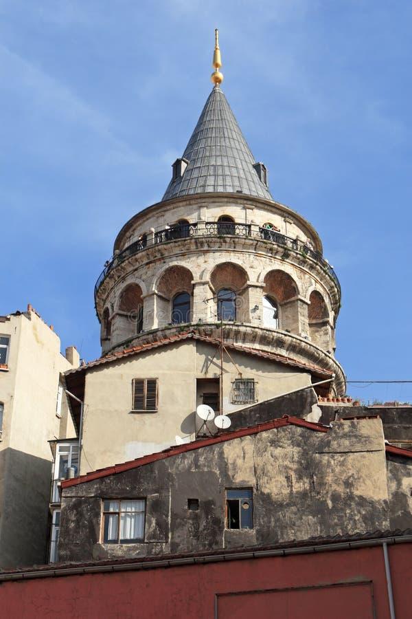 Torre de Galata imagens de stock