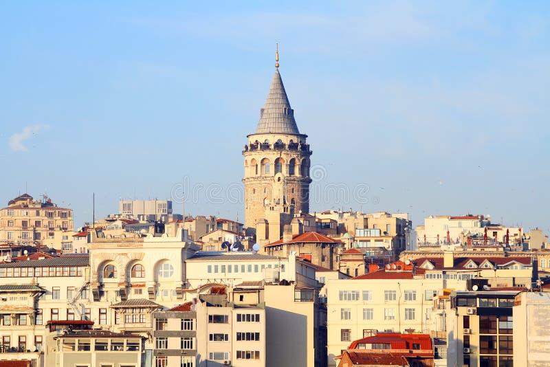 Torre de Galata imagem de stock