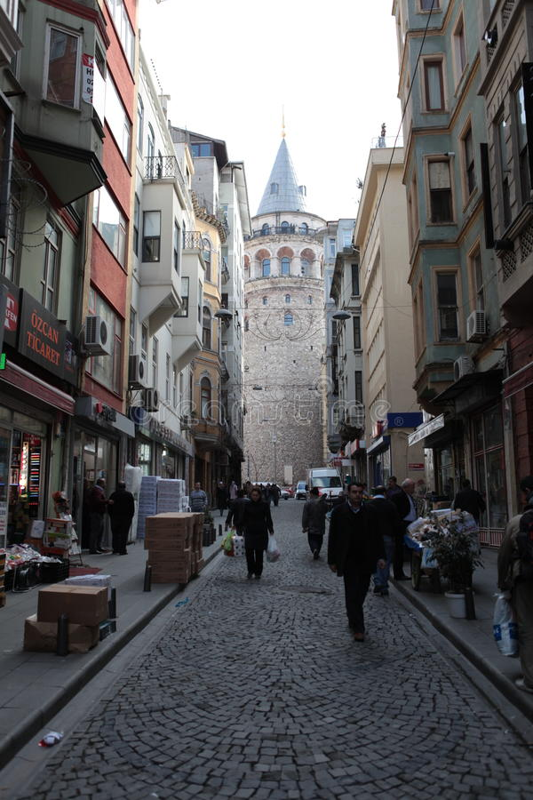 Torre de Galata fotos de stock royalty free