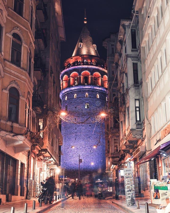 Torre de Galata, Estambul, Turquía fotos de archivo libres de regalías