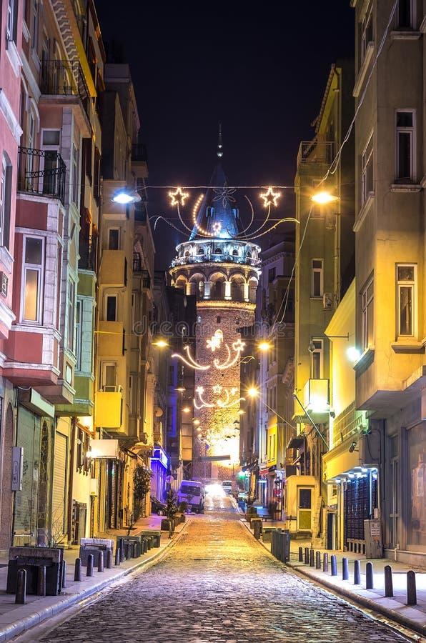 Torre de Galata, Istambul imagens de stock royalty free