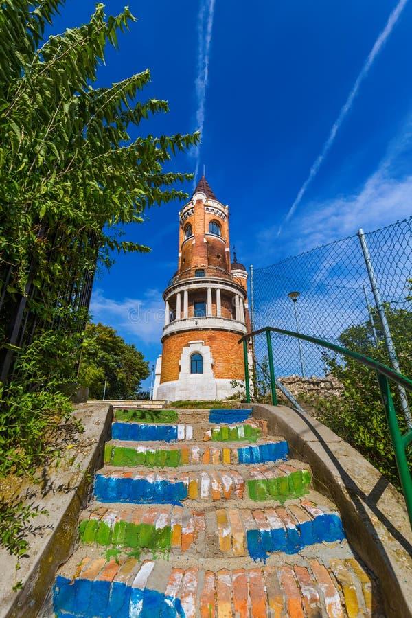 Torre de Gardos en Zemun - Belgrado Serbia imagen de archivo
