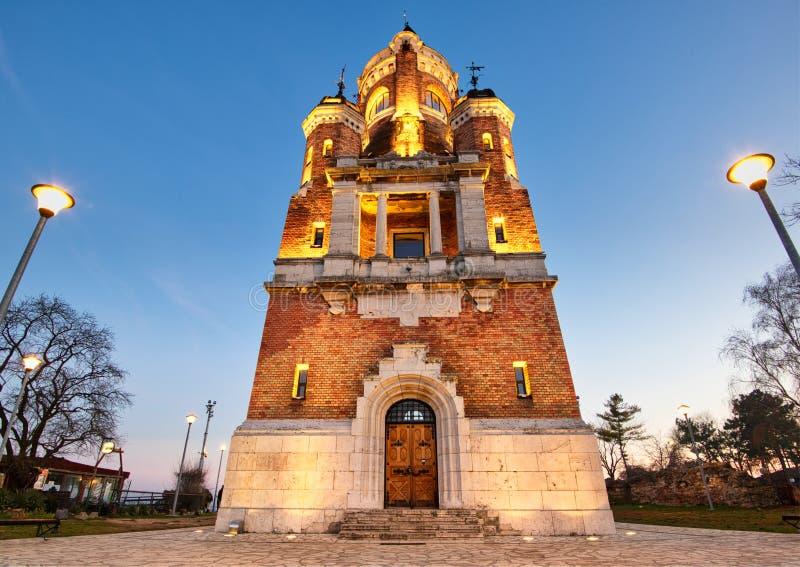 Torre de Gardos, Zemun foto de stock