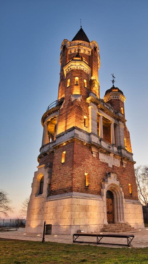 Torre de Gardos, Zemun imagen de archivo libre de regalías