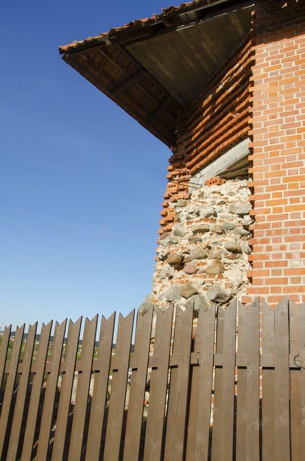 Torre de Gediminas Gedimino em Vilnius, Lituânia Símbolo histórico da cidade de Vilnius e de Lituânia próprio fotografia de stock royalty free