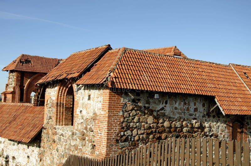 Torre de Gediminas Gedimino em Vilnius, Lituânia Símbolo histórico da cidade de Vilnius e de Lituânia próprio imagens de stock royalty free