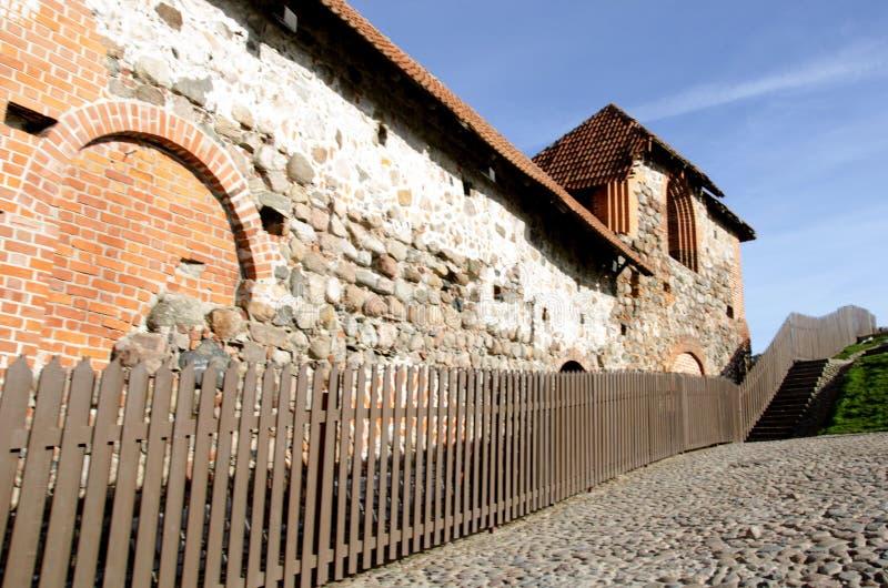 Torre de Gediminas Gedimino em Vilnius, Lituânia Símbolo histórico da cidade de Vilnius e de Lituânia próprio imagem de stock
