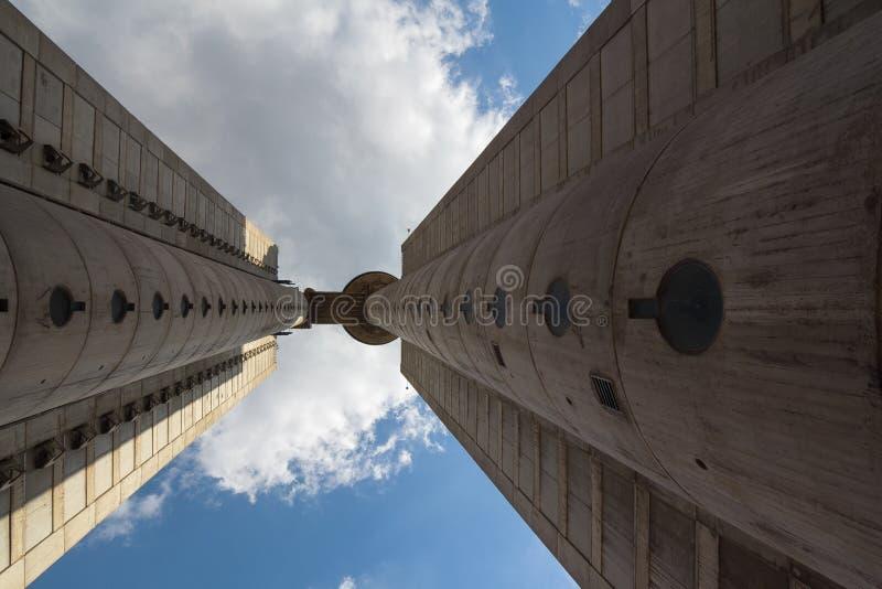 Torre de Genex imagenes de archivo
