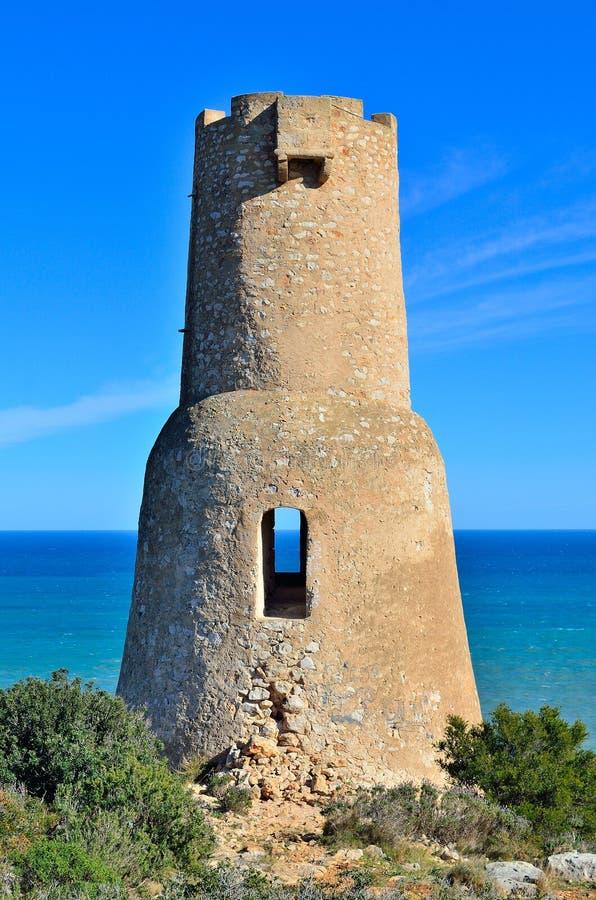 Torre de Gerro Spanien royaltyfri foto