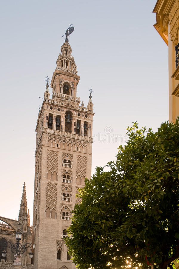 Torre de Giralda fotos de archivo libres de regalías