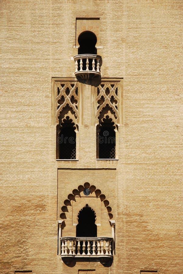 Torre de Giralda, Sevilla fotografía de archivo