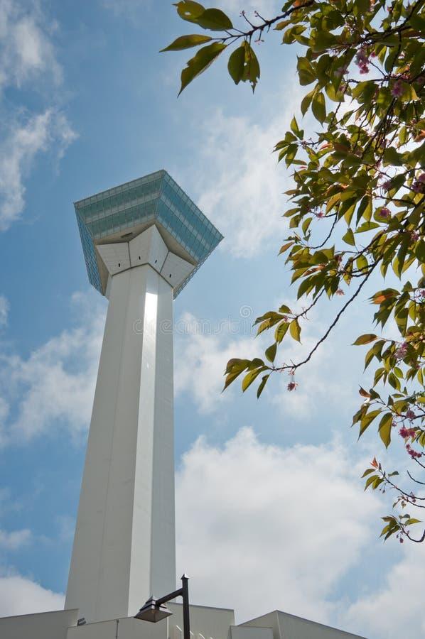 Torre de Goryokaku imagens de stock