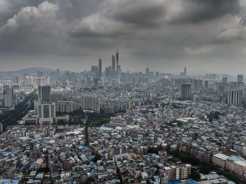Torre de Guangzhou imagens de stock