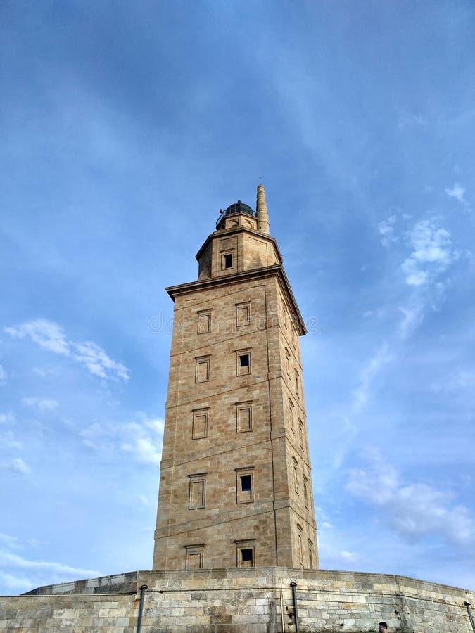 Torre de Hércules photos libres de droits