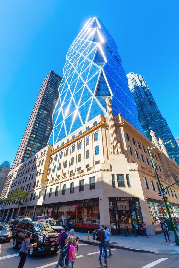 Torre de Hearst en Manhattan, New York City foto de archivo