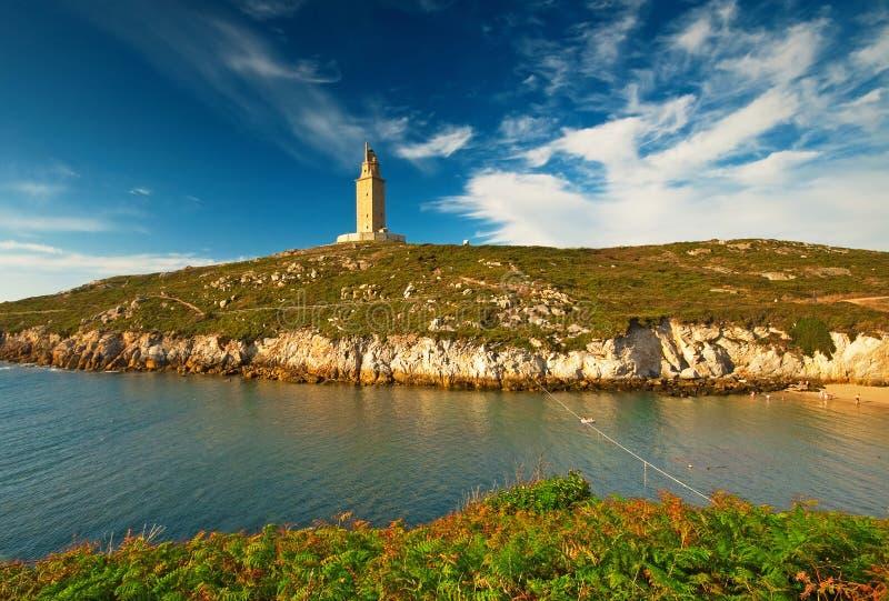Torre DE Hercules royalty-vrije stock fotografie