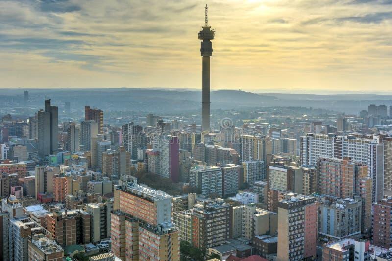 Torre de Hillbrow - Johannesburgo, Suráfrica foto de archivo libre de regalías