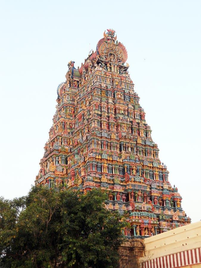 Torre de Hindus imagenes de archivo