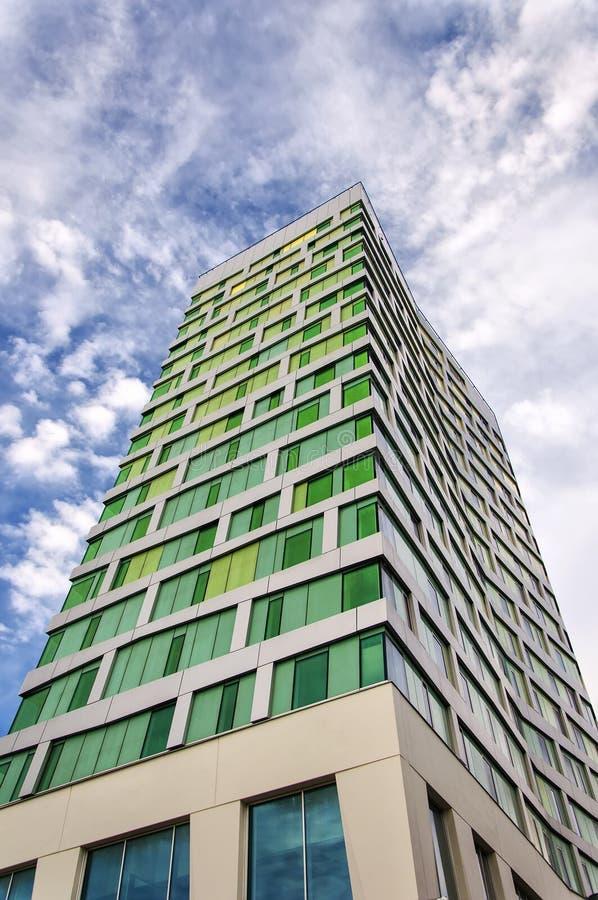 Torre de Hyllie del punto de Malmö fotografía de archivo libre de regalías