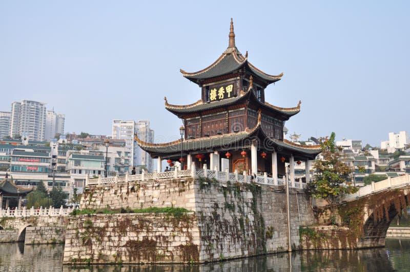 Torre de Jiaxiu foto de stock royalty free