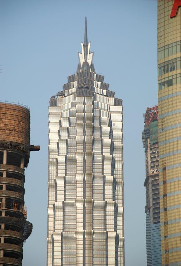 Torre de Jin Mao foto de archivo libre de regalías
