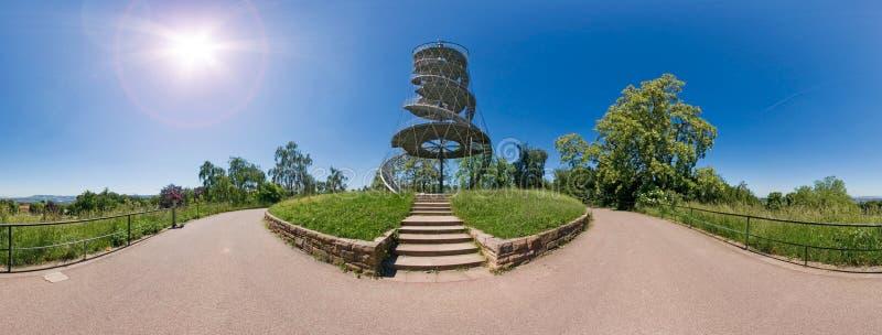 Torre de Killesberg fotografía de archivo