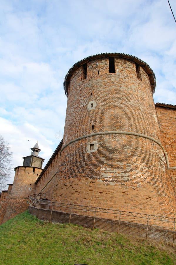 Torre de Kremlin fotografia de stock royalty free