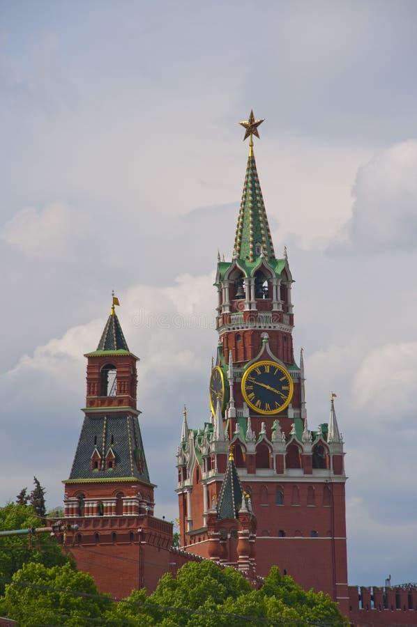 Torre de Kremlin fotografía de archivo