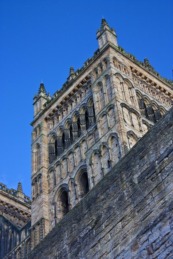 Torre de la catedral de Durham foto de archivo