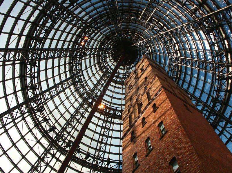 Torre de la central de Melbourne fotos de archivo libres de regalías