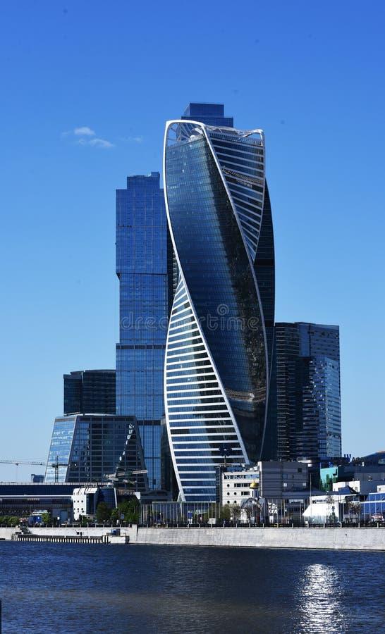 Torre de la ciudad de Moscú fotografía de archivo