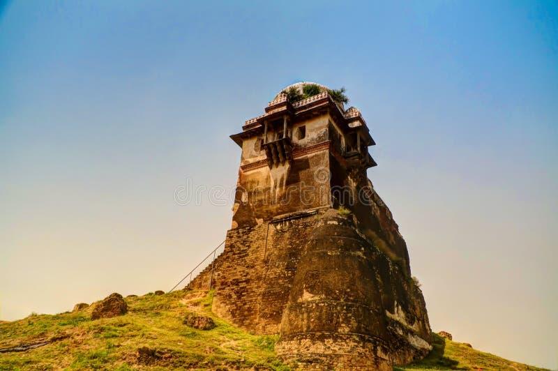 Torre de la fortaleza de Rohtas en Punjab Paquistán imagen de archivo libre de regalías