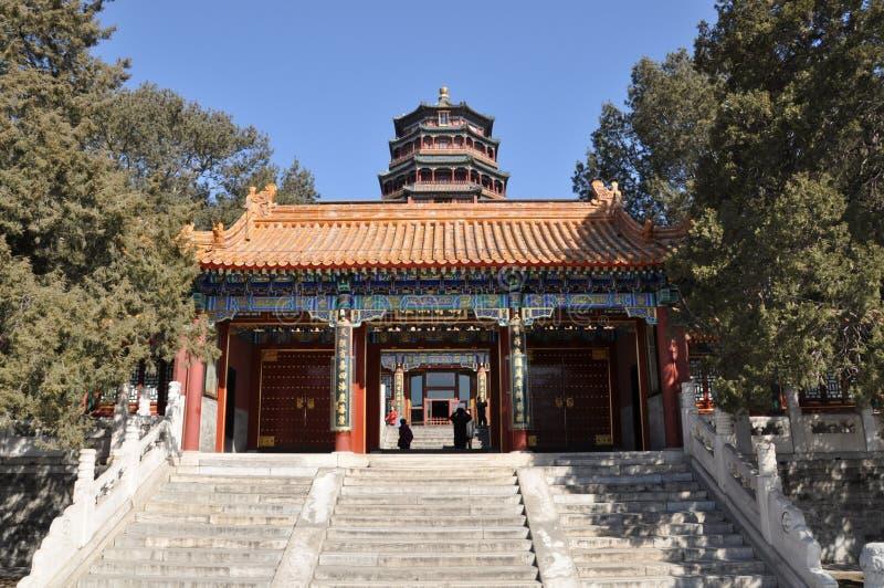 Torre de la fragancia del Buda (Foxiang GE) fotografía de archivo
