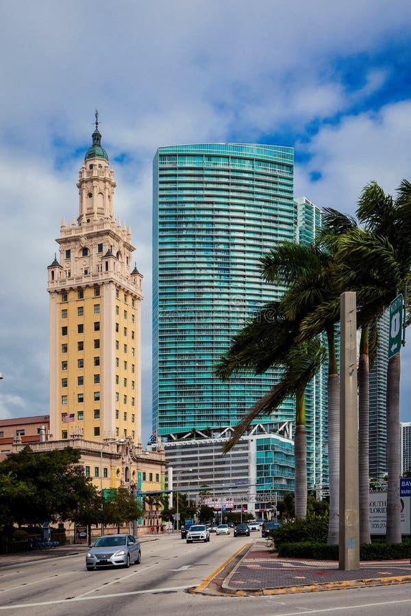 Torre de la libertad de Miami imágenes de archivo libres de regalías