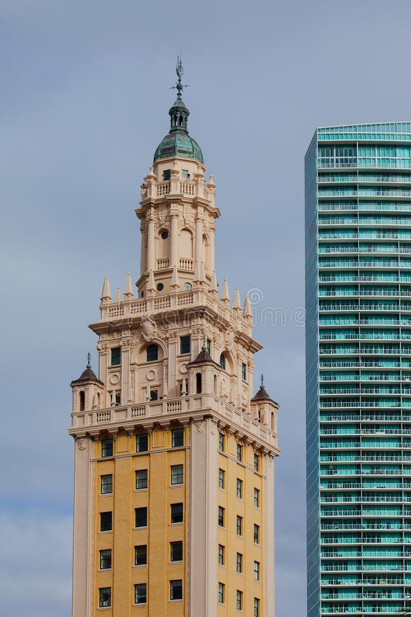 Torre de la libertad de Miami foto de archivo